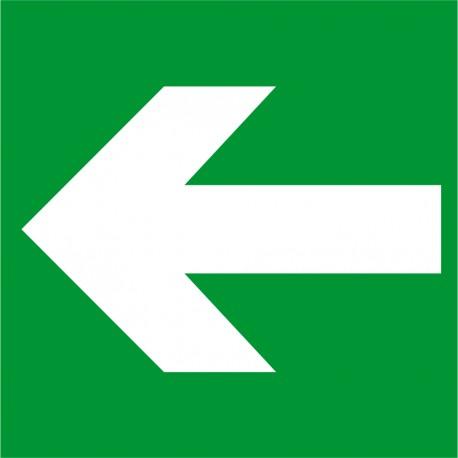 Flèche gauche
