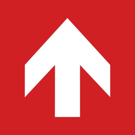 Flèche directionelle 90°