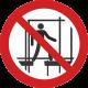Ne pas utiliser un échafaudage incomplet
