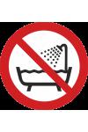 Ne pas utiliser ce dispositif dans une baignoire, une douche ou dans un réservoir rempli d'eau