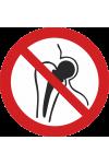 Entrée interdite aux porteurs d'implants métalliques