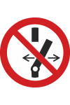Ne pas modifier la position de l'interrupteur
