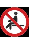 Interdiction de s'asseoir
