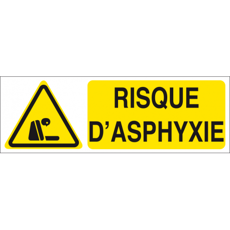 Risque d'asphyxie