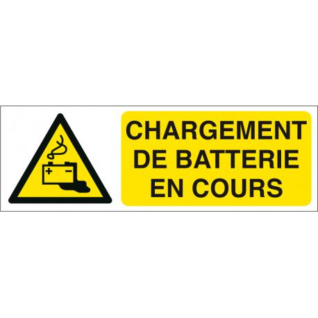 Chargement de batterie en cours