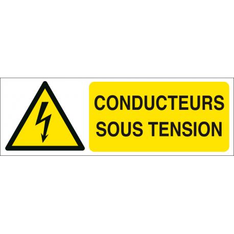 Conducteurs sous tension