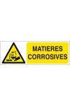 Matières corrosives