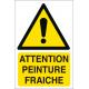 Attention peinture fraîche