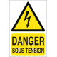 Danger sous tension