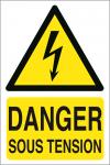 Danger sous tension