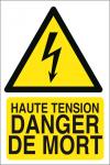 Haute tension danger de mort