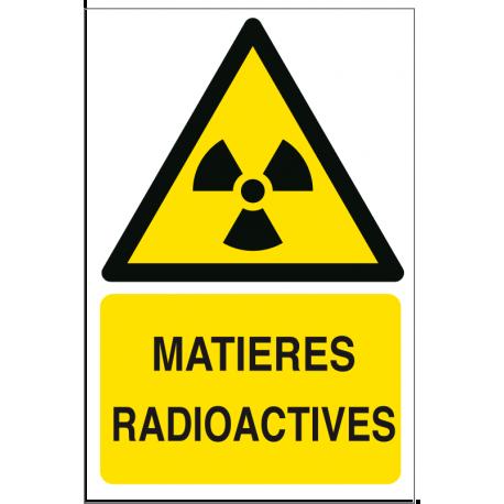 Matières radioactives