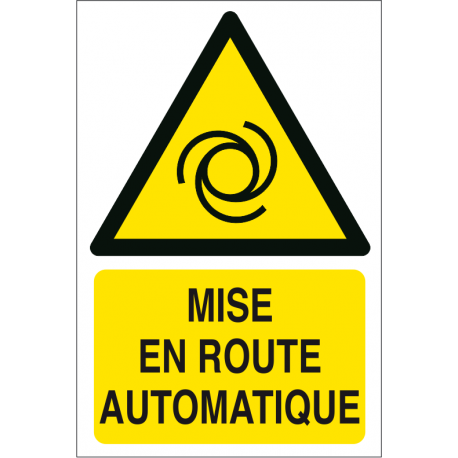 Mise en route automatique