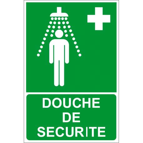 Douche de sécurité