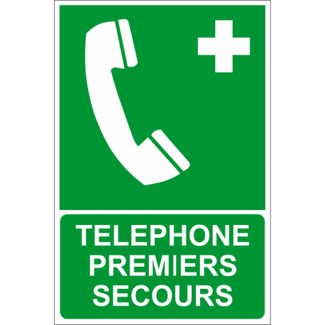 Téléphone premiers secours