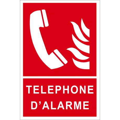 Téléphone d'alarme