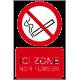 Ici zone non fumeur
