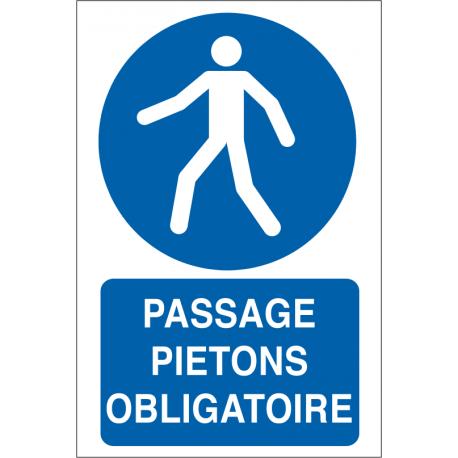 Passage piétons obligatoire