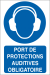 Port de protections auditives obligatoire