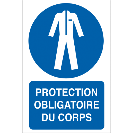 Protection obligatoire du corps