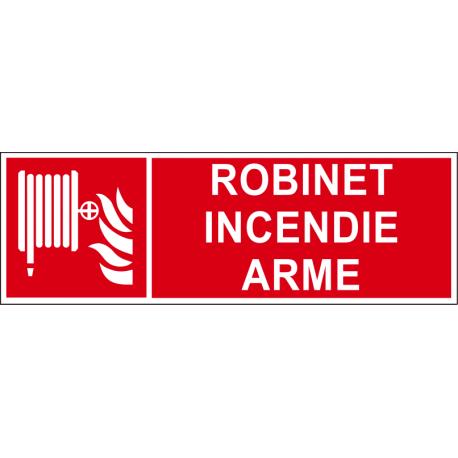 Robinet incendie armé