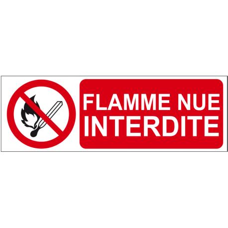 Flamme nue interdite