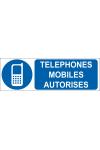 Téléphones mobiles autorisés