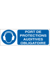 Port des protections auditives obligatoire