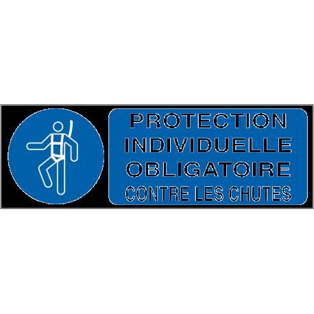 Protection individuelle obligatoire contre les chutes