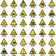Personnaliser pictogramme Danger avec texte (portrait)