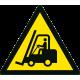 Danger Chariots élévateurs à fourche et autres véhicules industriels