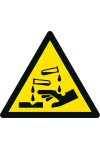 Danger Substances corrosives