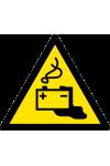 Danger Charge de la batterie en cours
