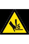 Attention aux mains Risque de sectionnement