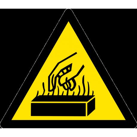 Risque de brûlure