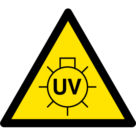 Attention lampe UV