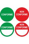 """Pastilles """"Conformité"""" (différents modèles)"""