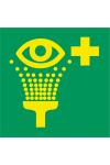 Equipement de rinçage des yeux
