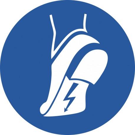 Chaussures antistatiques obligatoires