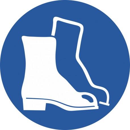 Chaussures de sécurité obligatoires