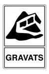 Tri gravats