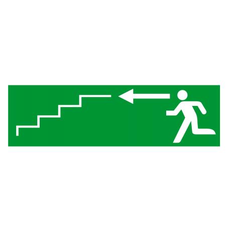 Sortie de secours flèche gauche escalier 2