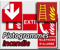 Panneaux/Pictogrammes Incendie