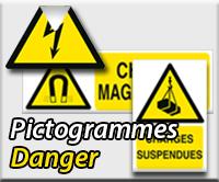 Panneaux/Pictogrammes Danger